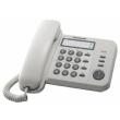 Telephone Panasonic Corded  KX-TS500FX  White