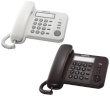 Telephone Panasonic Corded KX-TS520FXJ White