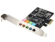 Sound Card 5.1 Channel PCI-E 3D Audio