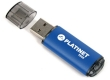 USB Drive 32GB Platinet X-Depo USB 2.0 Blue Aluminium