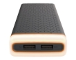 Power bank Platinet Portable for Smartphone and Tablet 20000mAh 2xUSB/2.1A Ambient Lighing