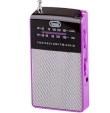 Portable Radio AM/FM Trevi RA 725 Fuchsia
