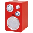 Portable Radio FM Trevi Cuba RA 742T Red