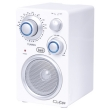 Portable Radio FM Trevi Cuba RA 742T White
