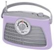 Portable Radio AM/FM Trevi Vintage RA 763V Purple