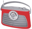 Portable Radio AM/FM Trevi Vintage RA 763V Red