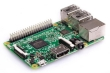 Raspberry Pi 3 Model B w/Premium Case & Micro USB Power adapter