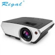 Projector Rigal RD-803 2000 Lumens 2000:1 800x480 pixels w/1080P support, 2xUSB/AV/VGA/HDMI