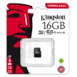 Secure Digital Micro Kingston 16GB SDHC Canvas Select cl10 UHS-I 80MB Read