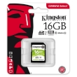 Secure Digital Kingston 16GB SDHC Canvas Select  High Speed Class10 80MB Read