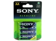 Batteries Sony AM3L-B4D 1.5V AA 4pack Blister Alkaline