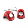 Speakers 2.0 SBOX USB Red SP-092