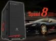 ATX Midi Tower Case SAMA GameStorm Speed 8 Gaming Black w/o PSU