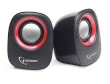 Speakers 2.0 Gembird SPK 107A Portable Black/Red