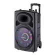 Speaker Box Manta Karaoke Ogre 40W Rechargeable w/Microphone, Remote, Disco LED, Battery