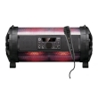 Speaker Box Manta Karaoke Tuba Power 45W Rechargeable w/Microphone, Remote, Disco LED, Battery