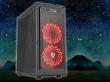 ATX Midi Tower Case SAMA GameStorm Starry Sky Gaming Black w/o PSU