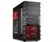 ATX Midi Tower Case Sharkoon VG4-W Gaming w/2xUSB 3.0, 2xUSB 2.0, 2x120mm Red LED Fans
