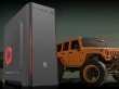 ATX Midi Tower Case SAMA GameStorm Wrangler Gaming Black w/o PSU