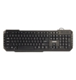 Keyboard Zalman ZM-K200M Multimedia USB Black